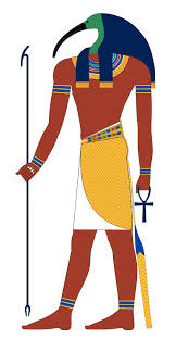 Ibis Headed Egyptian God,Thoth